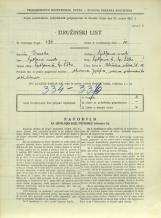Popis prebivalstva 31. 3. 1931<br />Ljubljana<br />Aleševčeva ulica 18<br />Population census 31 March 1931