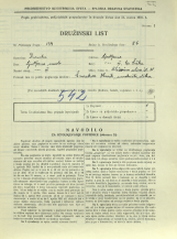 Popis prebivalstva 31. 3. 1931<br />Ljubljana<br />Aleševčeva ulica 38<br />Population census 31 March 1931