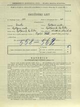 Popis prebivalstva 31. 3. 1931<br />Ljubljana<br />Aleševčeva ulica 42<br />Population census 31 March 1931