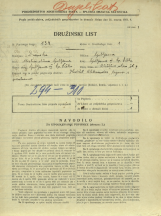 Popis prebivalstva 31. 3. 1931<br />Ljubljana<br />Aleševčeva ulica 7<br />Population census 31 March 1931