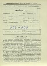 Popis prebivalstva 31. 3. 1931<br />Ljubljana<br />Aljaževa cesta 17<br />Population census 31 March 1931