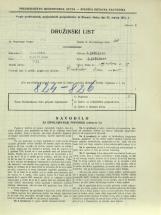 Popis prebivalstva 31. 3. 1931<br />Ljubljana<br />Aljaževa cesta 19<br />Population census 31 March 1931