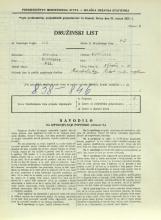 Popis prebivalstva 31. 3. 1931<br />Ljubljana<br />Aljaževa cesta 20<br />Population census 31 March 1931