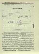 Popis prebivalstva 31. 3. 1931<br />Ljubljana<br />Aljaževa cesta 29<br />Population census 31 March 1931