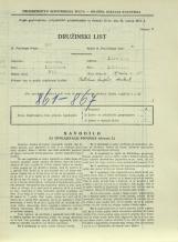 Popis prebivalstva 31. 3. 1931<br />Ljubljana<br />Aljaževa cesta 35<br />Population census 31 March 1931