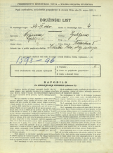 Popis prebivalstva 31. 3. 1931<br />Ljubljana<br />Aškerčeva ulica 5<br />Population census 31 March 1931