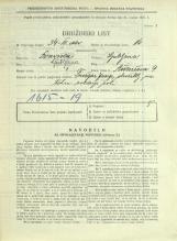 Popis prebivalstva 31. 3. 1931<br />Ljubljana<br />Aškerčeva ulica 9<br />Population census 31 March 1931