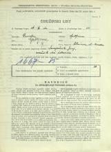 Popis prebivalstva 31. 3. 1931<br />Ljubljana<br />Aškerčeva ulica 1<br />Population census 31 March 1931