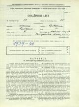 Popis prebivalstva 31. 3. 1931<br />Ljubljana<br />Beethovnova ulica 13<br />Population census 31 March 1931