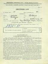Popis prebivalstva 31. 3. 1931<br />Ljubljana<br />Beethovnova ulica 15<br />Population census 31 March 1931