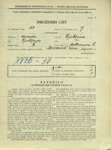 Popis prebivalstva 31. 3. 1931<br />Ljubljana<br />Beethovnova ulica 2<br />Population census 31 March 1931
