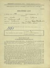 Popis prebivalstva 31. 3. 1931<br />Ljubljana<br />Beljaška ulica 4<br />Population census 31 March 1931