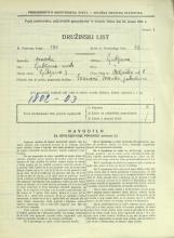 Popis prebivalstva 31. 3. 1931<br />Ljubljana<br />Beljaška ulica 8<br />Population census 31 March 1931