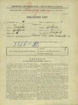 Popis prebivalstva 31. 3. 1931<br />Ljubljana<br />Bičevje 3<br />Population census 31 March 1931