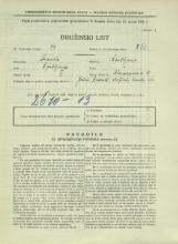 Popis prebivalstva 31. 3. 1931<br />Ljubljana<br />Bleiweisova cesta 10<br />Population census 31 March 1931
