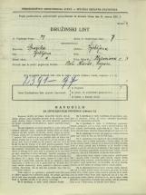 Popis prebivalstva 31. 3. 1931<br />Ljubljana<br />Bleiweisova cesta 3<br />Population census 31 March 1931