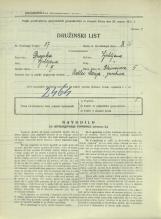 Popis prebivalstva 31. 3. 1931<br />Ljubljana<br />Bleiweisova cesta 5<br />Population census 31 March 1931