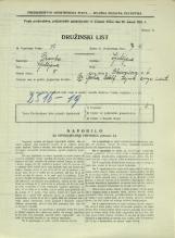 Popis prebivalstva 31. 3. 1931<br />Ljubljana<br />Bleiweisova cesta 6<br />Population census 31 March 1931