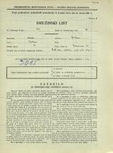 Popis prebivalstva 31. 3. 1931<br />Ljubljana<br />Bohoričeva ulica 10<br />Population census 31 March 1931