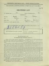 Popis prebivalstva 31. 3. 1931<br />Ljubljana<br />Bohoričeva ulica 13<br />Population census 31 March 1931