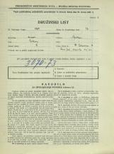 Popis prebivalstva 31. 3. 1931<br />Ljubljana<br />Bohoričeva ulica 14<br />Population census 31 March 1931