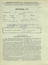 Popis prebivalstva 31. 3. 1931<br />Ljubljana<br />Bohoričeva ulica 18<br />Population census 31 March 1931