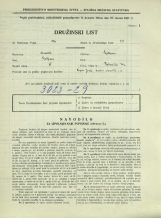 Popis prebivalstva 31. 3. 1931<br />Ljubljana<br />Bohoričeva ulica 24<br />Population census 31 March 1931