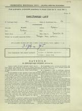 Popis prebivalstva 31. 3. 1931<br />Ljubljana<br />Bohoričeva ulica 27<br />Population census 31 March 1931