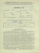 Popis prebivalstva 31. 3. 1931<br />Ljubljana<br />Bohoričeva ulica 29<br />Population census 31 March 1931