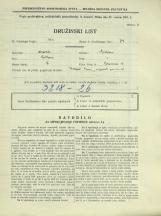 Popis prebivalstva 31. 3. 1931<br />Ljubljana<br />Bohoričeva ulica 30<br />Population census 31 March 1931