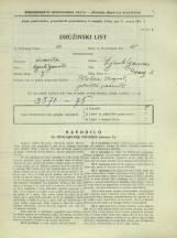 Popis prebivalstva 31. 3. 1931<br />Ljubljana<br />Breg 8<br />Population census 31 March 1931