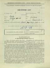 Popis prebivalstva 31. 3. 1931<br />Ljubljana<br />Cankarjevo nabrežje 5<br />Population census 31 March 1931