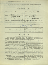 Popis prebivalstva 31. 3. 1931<br />Ljubljana<br />Cankarjevo nabrežje 9<br />Population census 31 March 1931
