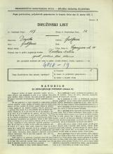 Popis prebivalstva 31. 3. 1931<br />Ljubljana<br />Cegnarjeva ulica 10<br />Population census 31 March 1931