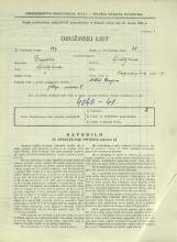Popis prebivalstva 31. 3. 1931<br />Ljubljana<br />Cegnarjeva ulica 12<br />Population census 31 March 1931