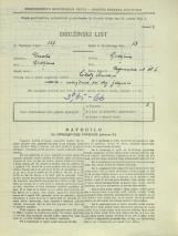 Popis prebivalstva 31. 3. 1931<br />Ljubljana<br />Cegnarjeva ulica 6<br />Population census 31 March 1931