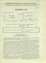 Popis prebivalstva 31. 3. 1931<br />Ljubljana<br />Celjska ulica 19<br />Population census 31 March 1931
