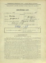 Popis prebivalstva 31. 3. 1931<br />Ljubljana<br />Celjska ulica 3<br />Population census 31 March 1931