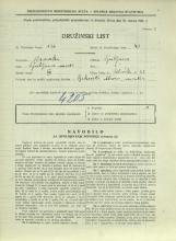 Popis prebivalstva 31. 3. 1931<br />Ljubljana<br />Celovška cesta 22<br />Population census 31 March 1931