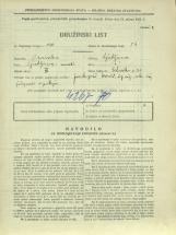 Popis prebivalstva 31. 3. 1931<br />Ljubljana<br />Celovška cesta 23<br />Population census 31 March 1931