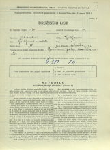 Popis prebivalstva 31. 3. 1931<br />Ljubljana<br />Celovška cesta 32<br />Population census 31 March 1931