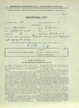 Popis prebivalstva 31. 3. 1931<br />Ljubljana<br />Celovška cesta 34<br />Population census 31 March 1931