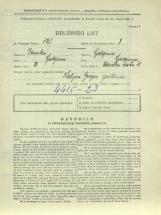 Popis prebivalstva 31. 3. 1931<br />Ljubljana<br />Celovška cesta 41<br />Population census 31 March 1931