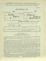 Popis prebivalstva 31. 3. 1931<br />Ljubljana<br />Celovška cesta 44<br />Population census 31 March 1931