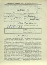 Popis prebivalstva 31. 3. 1931<br />Ljubljana<br />Celovška cesta 53<br />Population census 31 March 1931