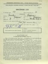 Popis prebivalstva 31. 3. 1931<br />Ljubljana<br />Celovška cesta 66<br />Population census 31 March 1931