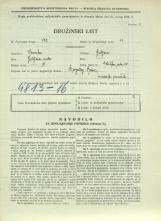Popis prebivalstva 31. 3. 1931<br />Ljubljana<br />Celovška cesta 68<br />Population census 31 March 1931
