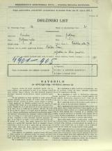 Popis prebivalstva 31. 3. 1931<br />Ljubljana<br />Celovška cesta 77<br />Population census 31 March 1931