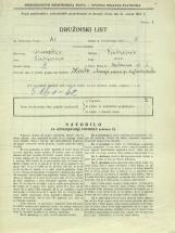 Popis prebivalstva 31. 3. 1931<br />Ljubljana<br />Cerkvena ulica 1<br />Population census 31 March 1931