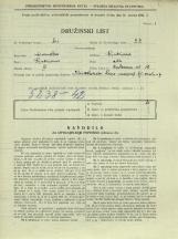 Popis prebivalstva 31. 3. 1931<br />Ljubljana<br />Cerkvena ulica 15<br />Population census 31 March 1931
